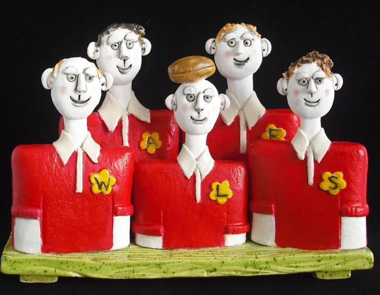 10.  Little Characters  - Welsh Rugby